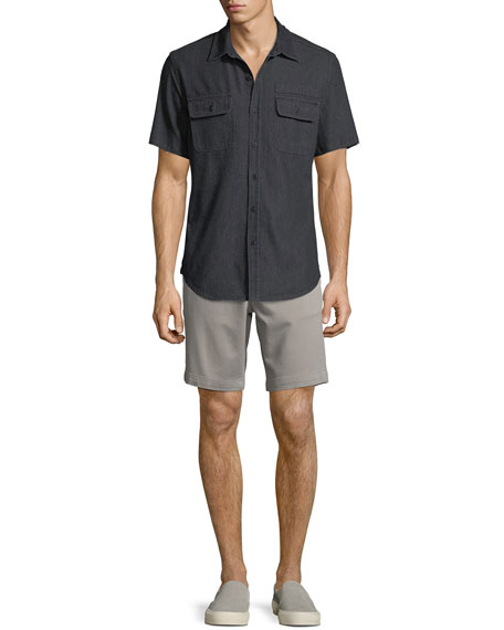 Men's Jake French Terry Shorts, Light Grey