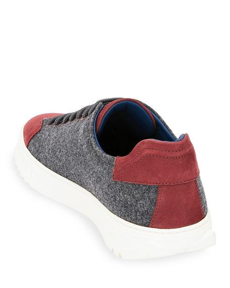 Men's Cube 11 Wool Low-Top Sneakers