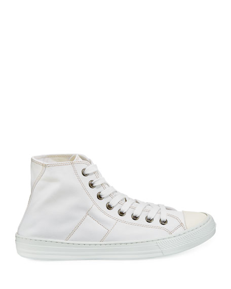 Men's Stereotype Canvas High-Top Sneakers