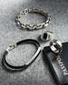 David Yurman Men's 8.5mm Deco Stone ID Leather Bracelet