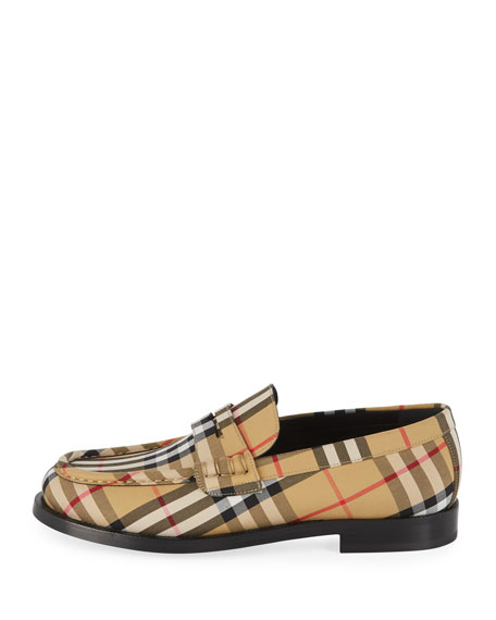 Men's Moore Signature Check Penny Loafer