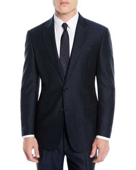 Emporio Armani Men's Solid Wool Two-Piece Suit