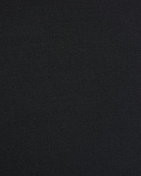 Men's Basic Two-Piece Wool Mouline Suit