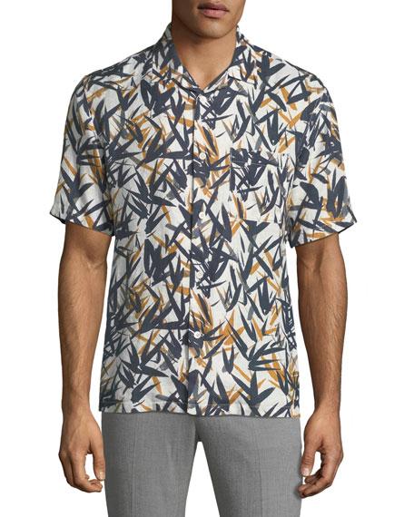 Men's Daze Pinal Linen Short-Sleeve Sport Shirt
