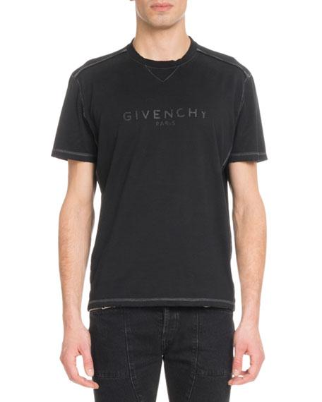 Givenchy Men's Tonal Logo Graphic T-Shirt