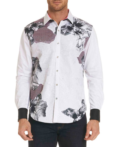 Robert Graham Men's Limited Edition Corporal Floral-Print Sport