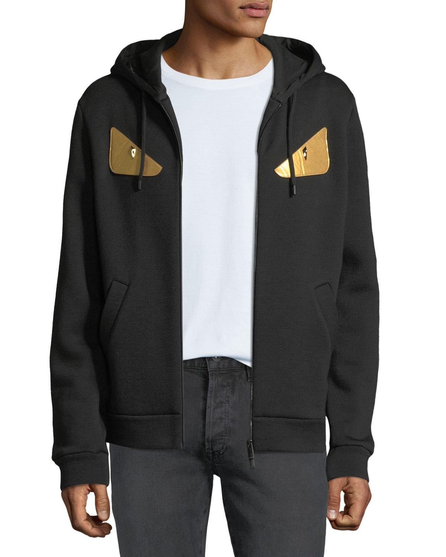 4e98b1a273 Men's Gold Bugs Zip-Front Hoodie Sweatshirt