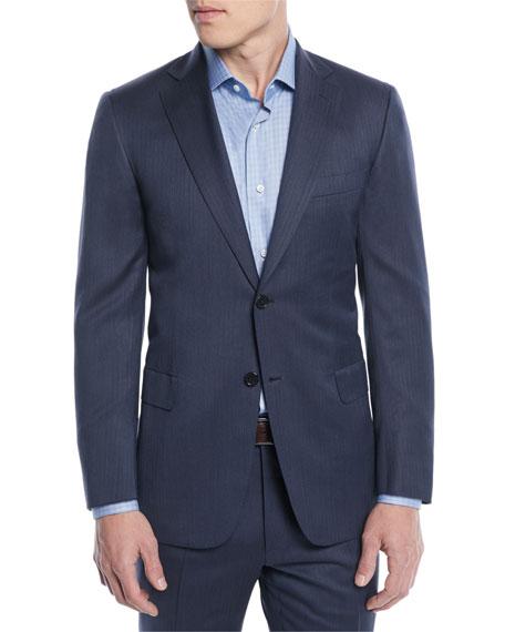 Brioni Men's Herringbone Two-Piece Wool Suit