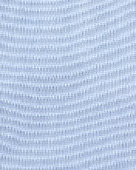 Canali Men's Impeccabile Solid Dress Shirt, Blue