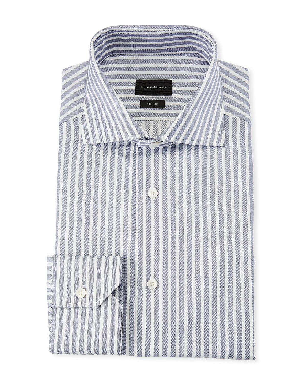 ab5aa1ea Men's Trofeo Wide Stripe Dress Shirt