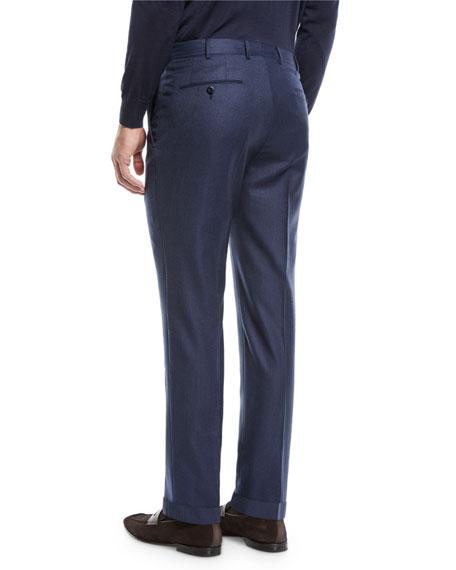 Ermenegildo Zegna Men's Trofeo Wool Dress Pants