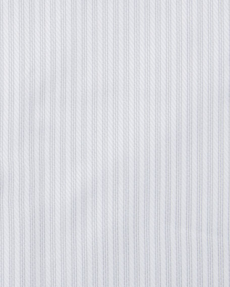 Ermenegildo Zegna Men's Trofeo Graphic Stripe Dress Shirt
