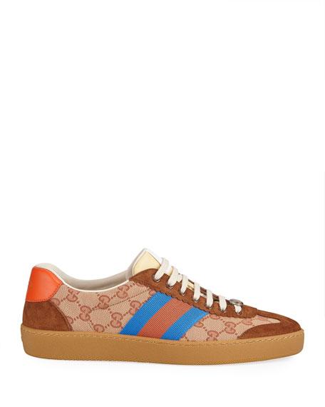 Original GG and Suede Web Sneaker