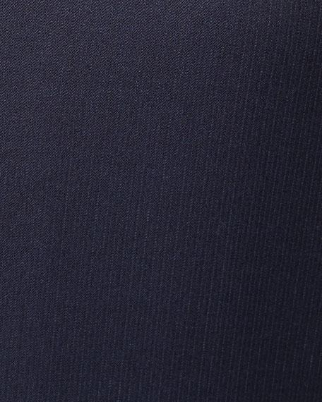 Ermenegildo Zegna Men's Narrow Stripe Two-Piece Wool Suit