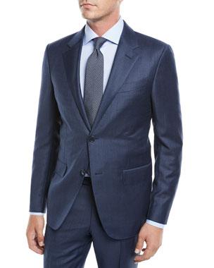 Suits & Suit Separates Recent Ermenegildo Zegna Model-emi Cotton Linen Side Vented Sport Coat 42 R