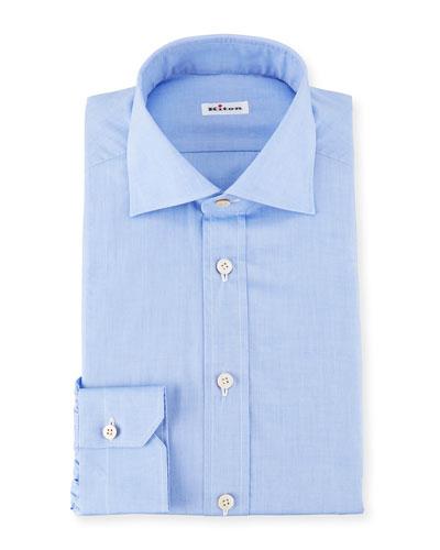 Broadcloth Dress Shirt, Blue