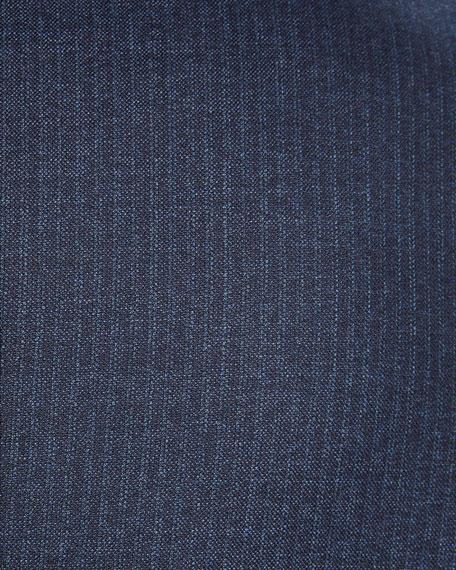 Ermenegildo Zegna Men's Notched-Collar Two-Piece Pinstripe Wool Suit
