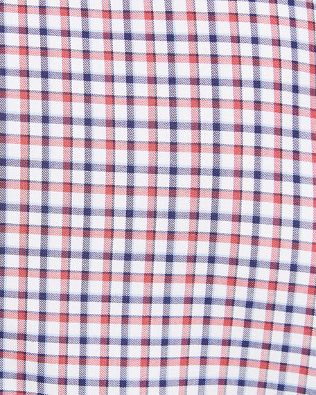 Image 3 of 3: Men's Check Cotton Sport Shirt