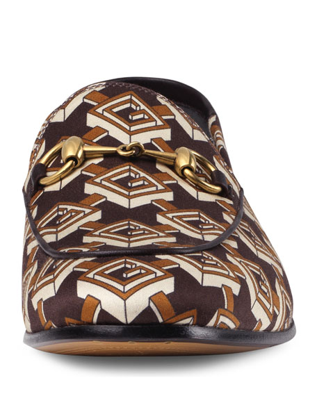 Isometric G Print Loafer