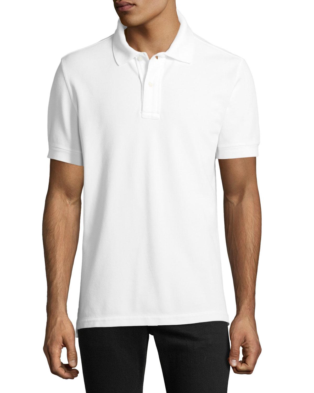 a351baa0 TOM FORD Garment-Dyed Tennis Pique Polo Shirt | Neiman Marcus
