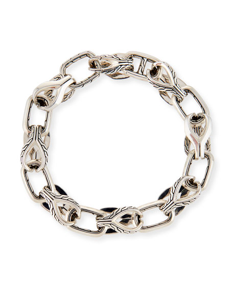 John Hardy Men's 11mm Classic Chain Silver Link