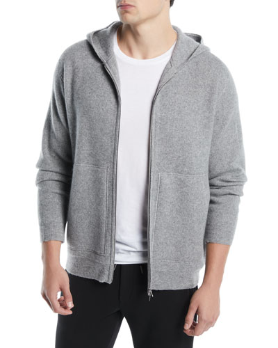 Alcos HD Zip Pebble Heather Cashmere  Hoodie Sweater