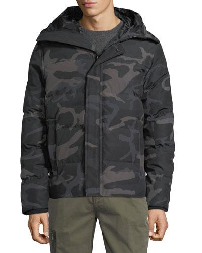 Men's Macmillan Hooded Camo Parka Coat