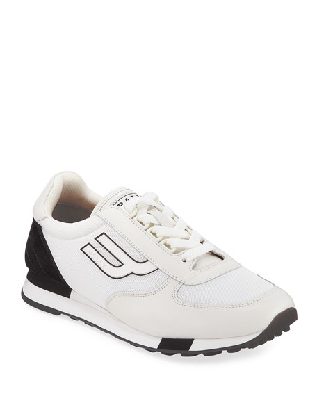 Men's Gavino Retro Leather Running Sneakers