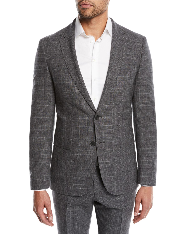 f426f9f60 BOSS Men's Nestro Check Two-Piece Wool Suit   Neiman Marcus