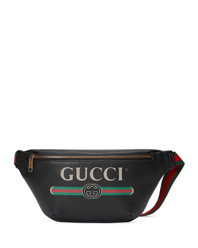 Men's Retro Logo Belt Bag/Fanny Pack