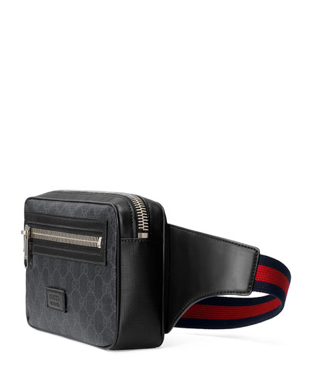 Gucci Men's GG Supreme Canvas Belt Bag/Fanny Pack