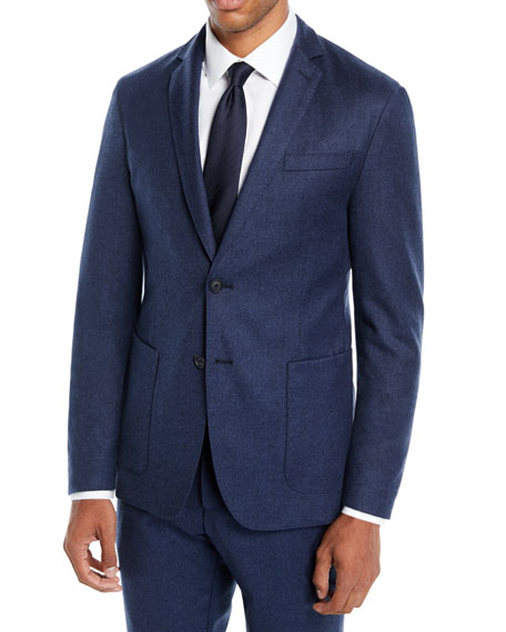 BOSS Men's Wool Travel Blazer Jacket
