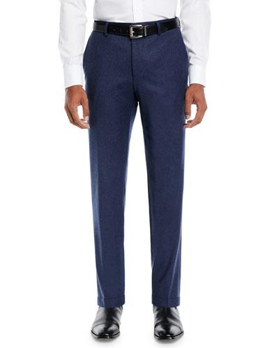 Men's Heathered Wool Travel Pants