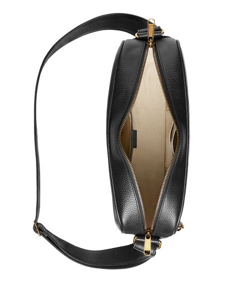 Gucci Men's Retro Leather Shoulder Bag