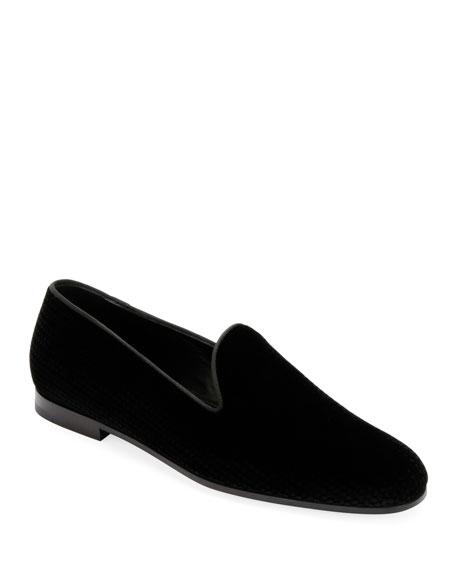 Men's Formal Velvet Loafer