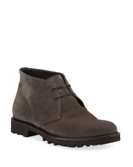 Men's Suede Chukka Boot
