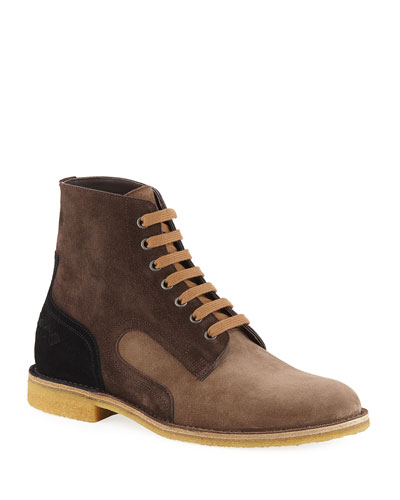 Men's Spritz Suede Lace-Up Boots