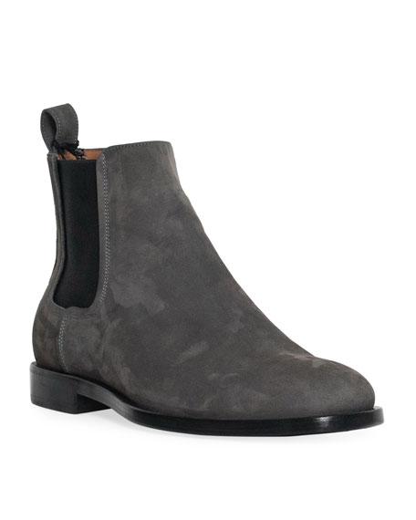 Men's Nubuck Chelsea Boot