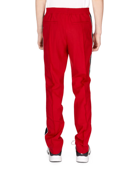 Men's Side-Stripe Track Pants