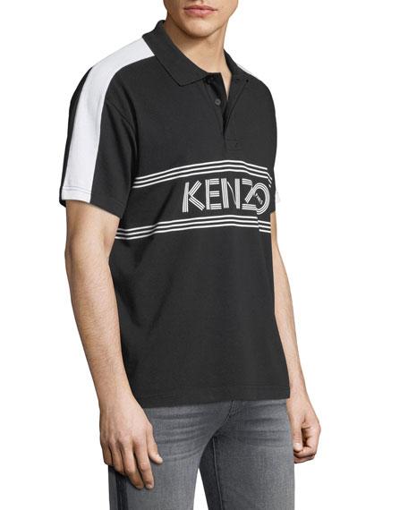 Men's Sport Logo Polo Shirt