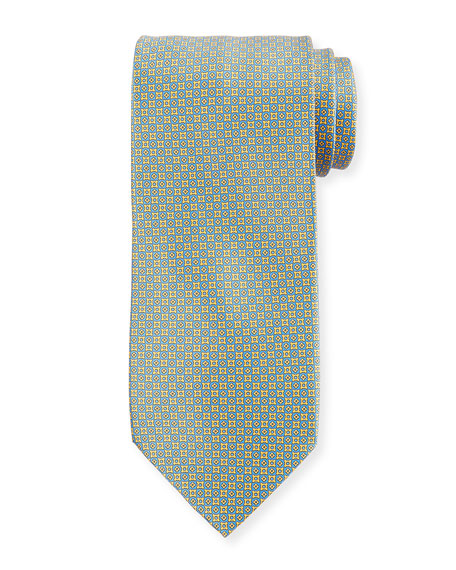 Stefano Ricci Bottony Cross Silk Tie