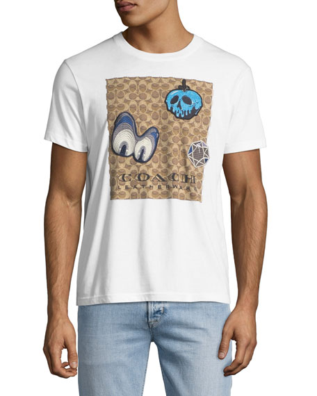 Coach Disney Dark Fairy Tale Men's Appliqué T-Shirt