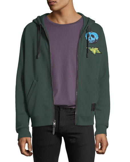 Coach DISNEY X COACH Dark Fairy Tale Men's Snow White Sneezy Zip-Front Hoodie