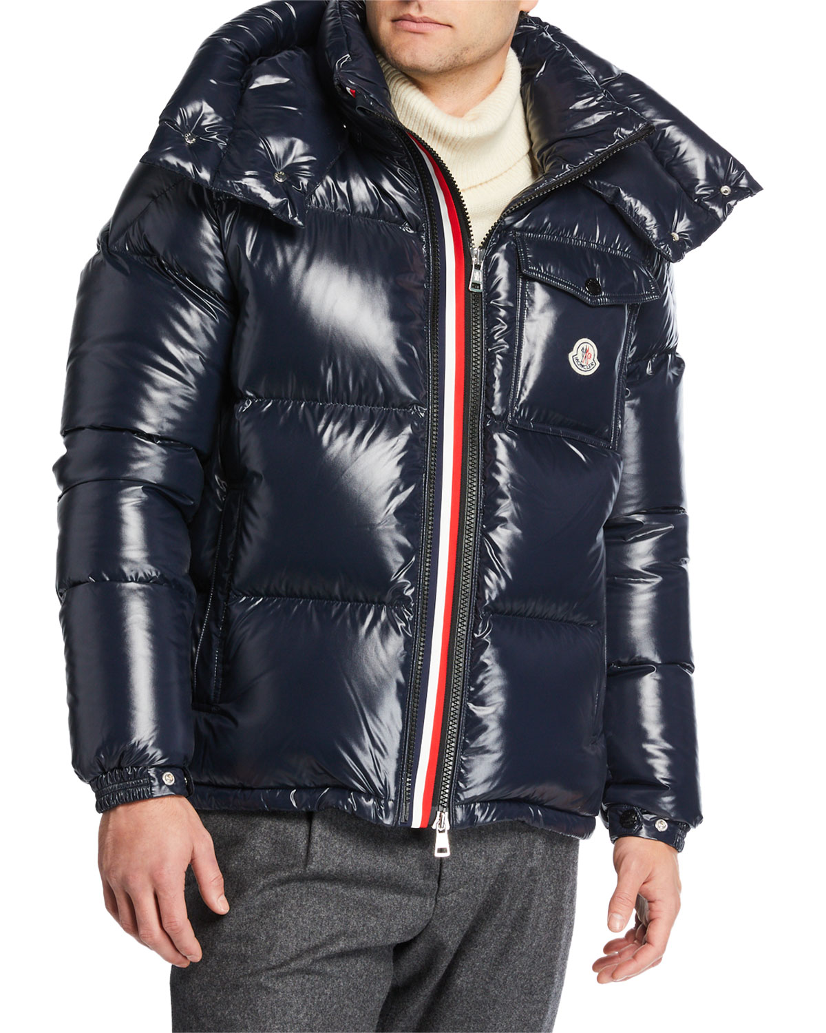 012f2be45466 Moncler Men s Montbeliard Shiny Puffer Jacket