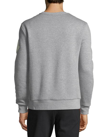 Men's Moncler Genius Crewneck Logo Graphic Sweatshirt