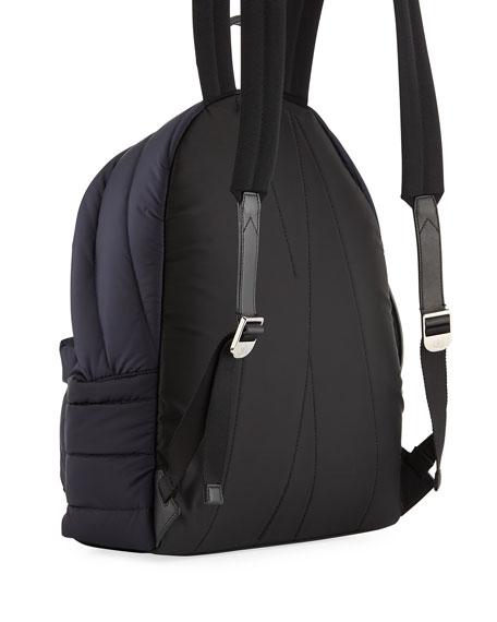 Moncler Men's Dolomites Quilted Nylon Backpack, Navy
