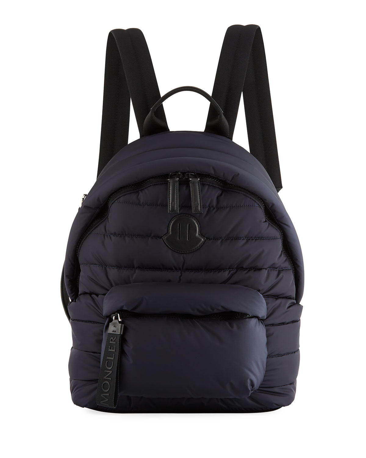 Men's Dolomites Quilted Nylon Backpack, Navy by Moncler