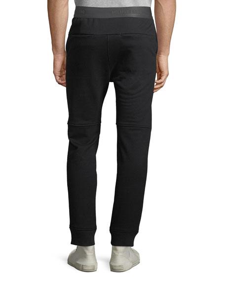 Helmut Lang Men's Logo Elastic-Waist Sweatpants