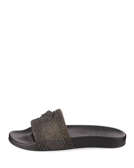 Men's Glitter Shower Slide Sandals