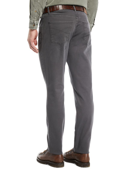 Men's Straight-Leg Denim Pants